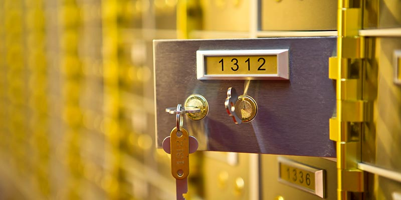 Safety Deposit Boxes York