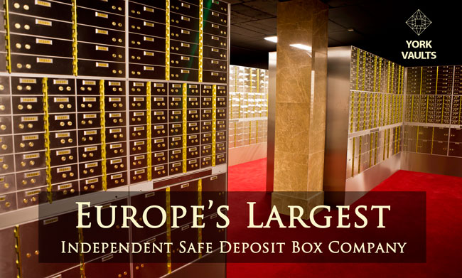 Safe Deposit Boxes Opening Soon YORK